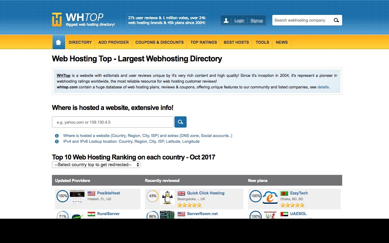 Web Hosting Top